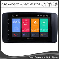 9''Android 9.0 Quad Core Car GPS NO DVD Player For Mercedes Benz R Class W251 R280 R300 R350 R500 Navigation Stereo Radio WIFI