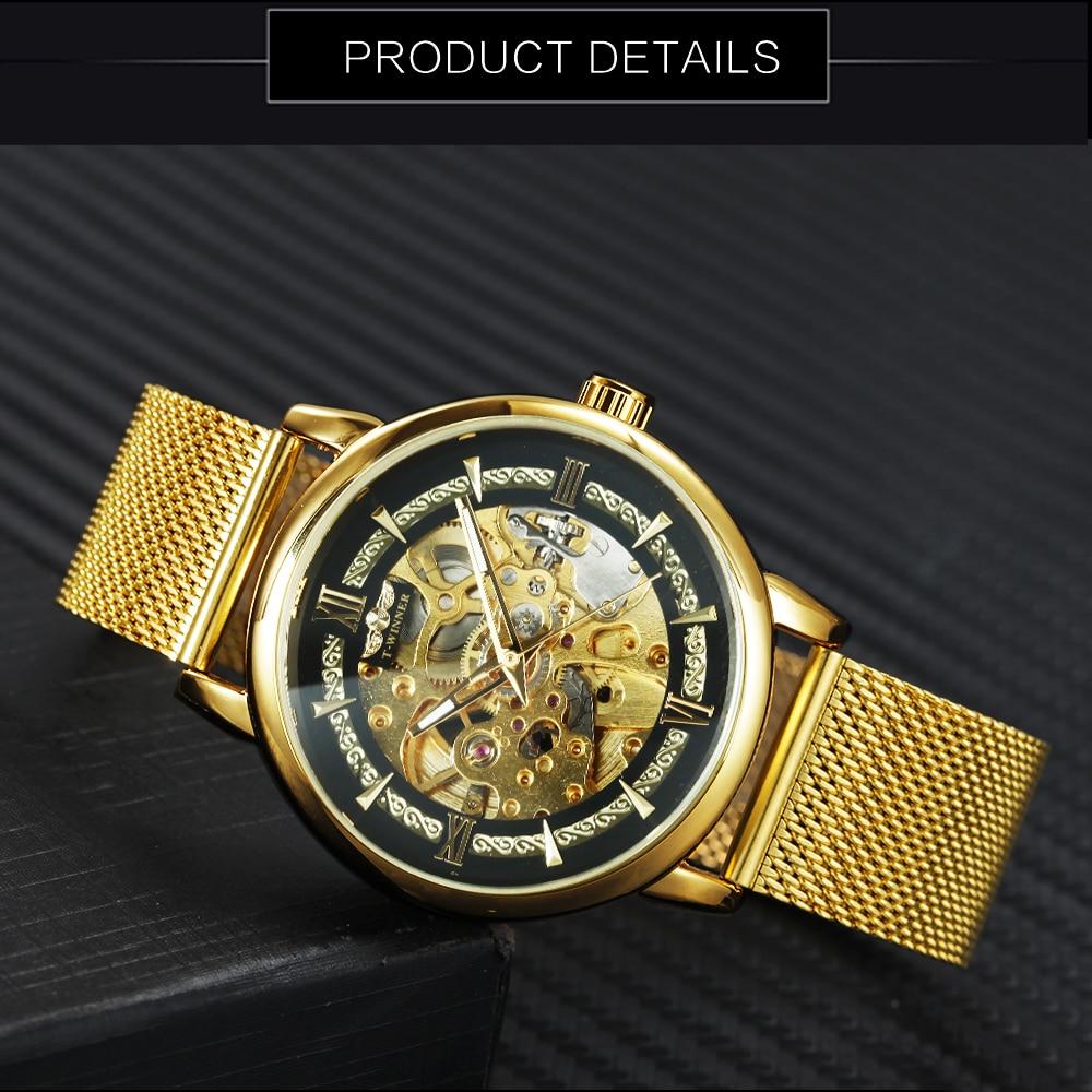 HTB1g6ZCdk9E3KVjSZFGq6A19XXat WINNER Official Fashion Casual Men Mechanical Watch Blue Mesh Strap Ultra Thin Skeleton Mens Watches Top Brand Luxury Clock 2019