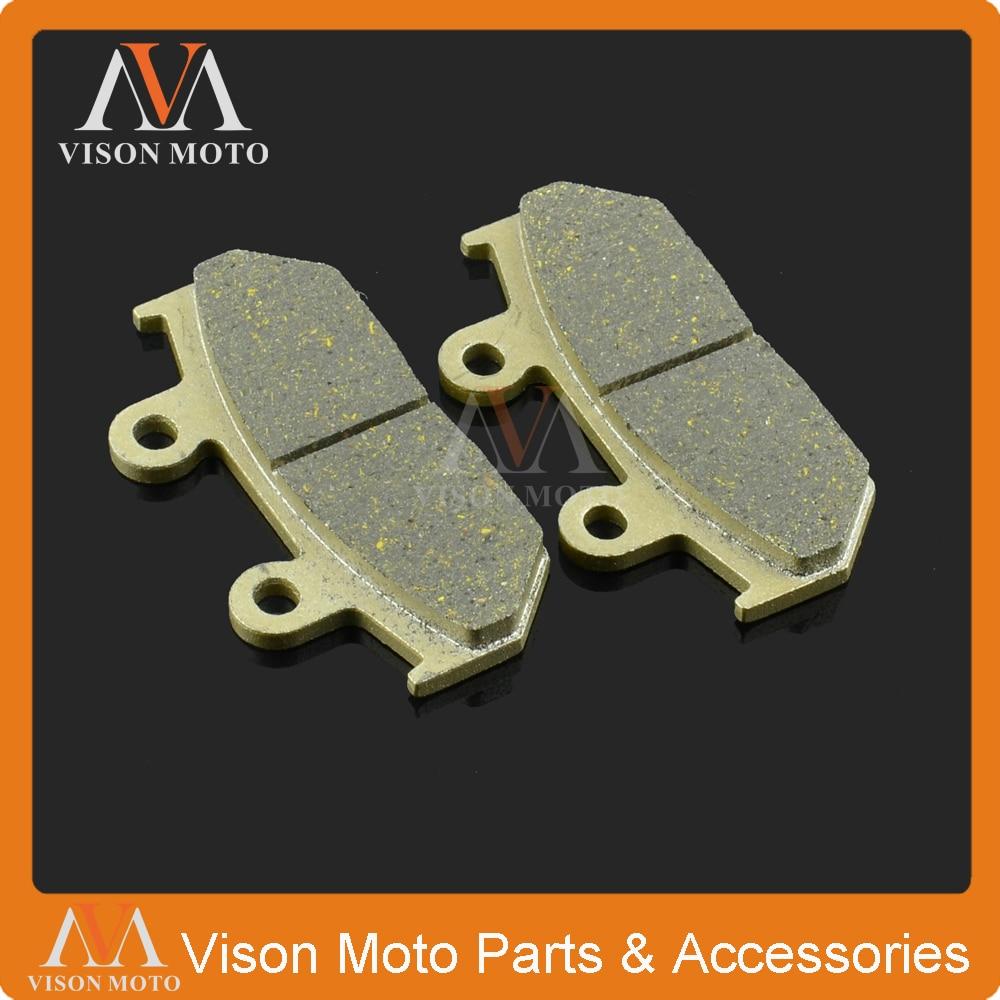 Передние суппорта Тормозные колодки для Honda RS125 150 CBR750 VFR750 CBR1000 CD250 GB250 VTZ250 NV400 NX500 XL600 VT600 NX650 XRV650 GL1500