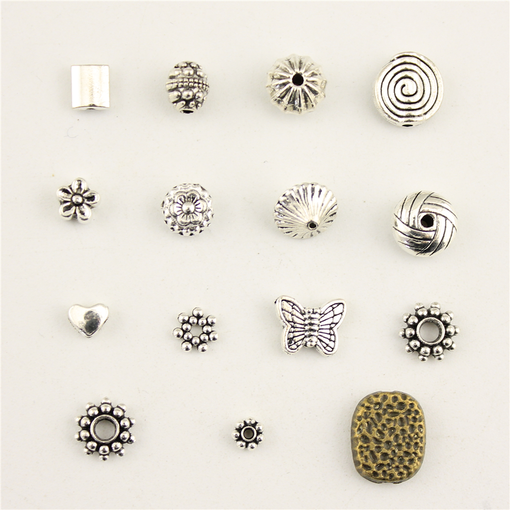Charms For Jewelry Making Perforated Hole Beads Accessories Parts Creative DIY Handmade Birthday Gifts in Charms from Jewelry Accessories