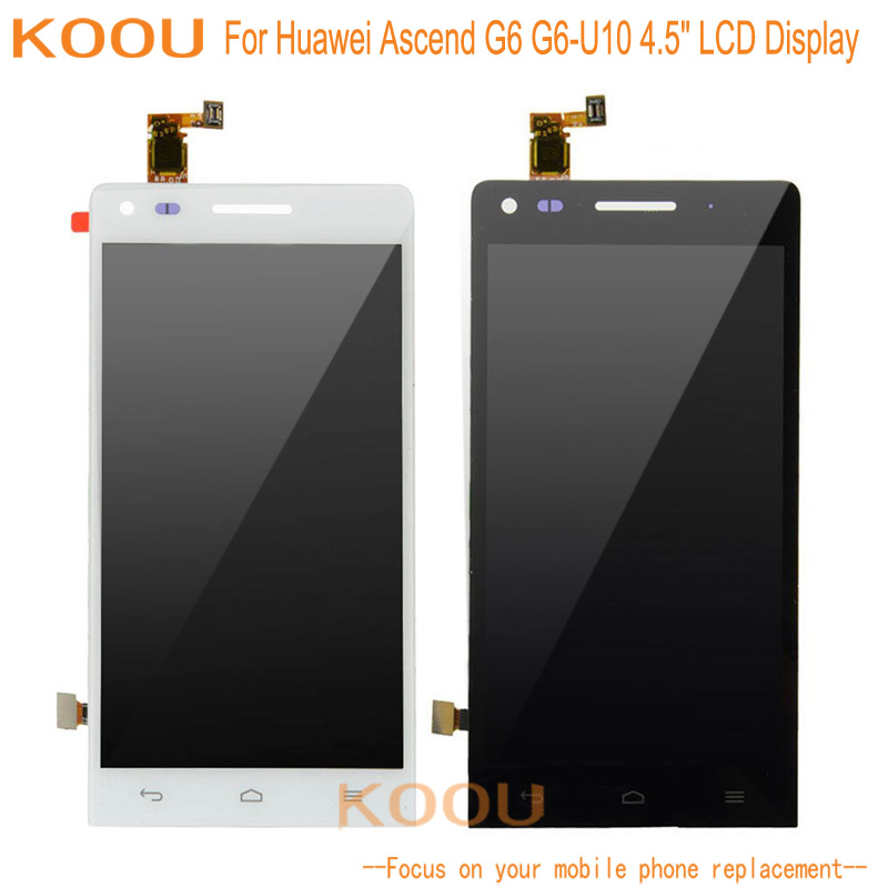 For Huawei Ascend G6 G6-U10 LCD Display + Touch Screen Dightizer Assembly Replacement For Huawei Mobile Phone Display