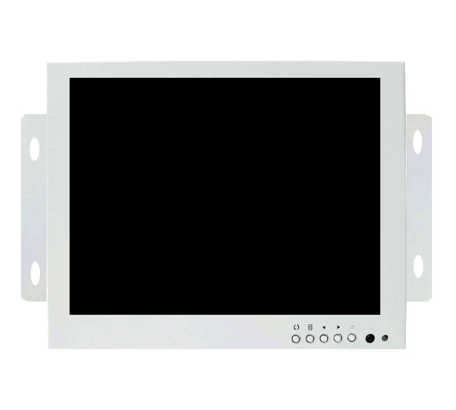 ZGYNK / 8 inch Open Frame Industrial monitor/ metal monitor with VGA /AV/BNC monitor