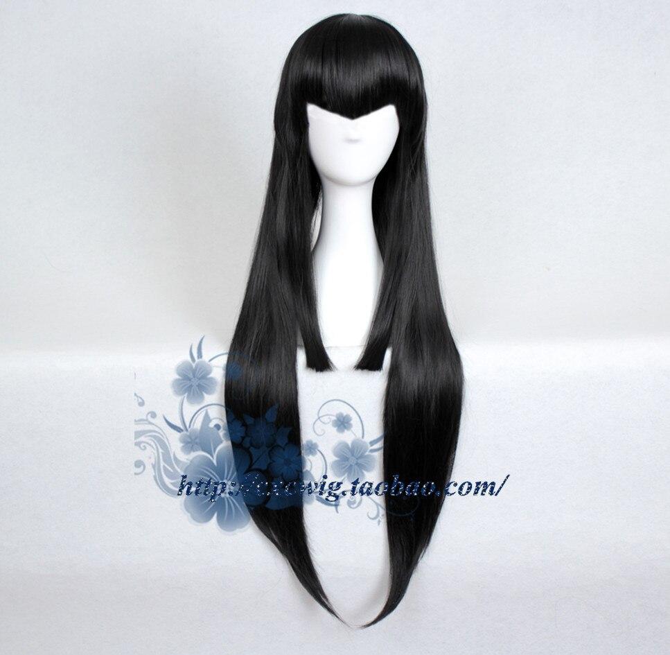 Tokyo Anime KILL La KILL Kiryuuin Satsuki Cosplay Wig Women Long Black Straight Hair Wig Costumes Kiryuuin Satsuki