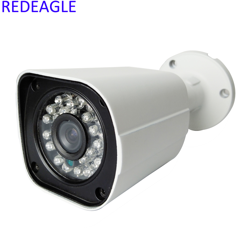 Full Metal Waterproof Outdoor IP Network Security Camera 1MP 720P 1080P Surveillance Bullet Camera Night Vision wistino cctv camera metal housing outdoor use waterproof bullet casing for ip camera hot sale white color cover case