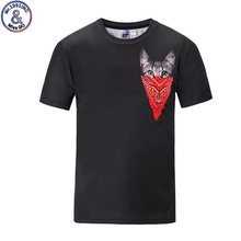 Mr.1991 brand special design Masked cat 3D printed t-shirt for boys or girls big kids t shirts teens tops tee A58 mr big mr big what if…