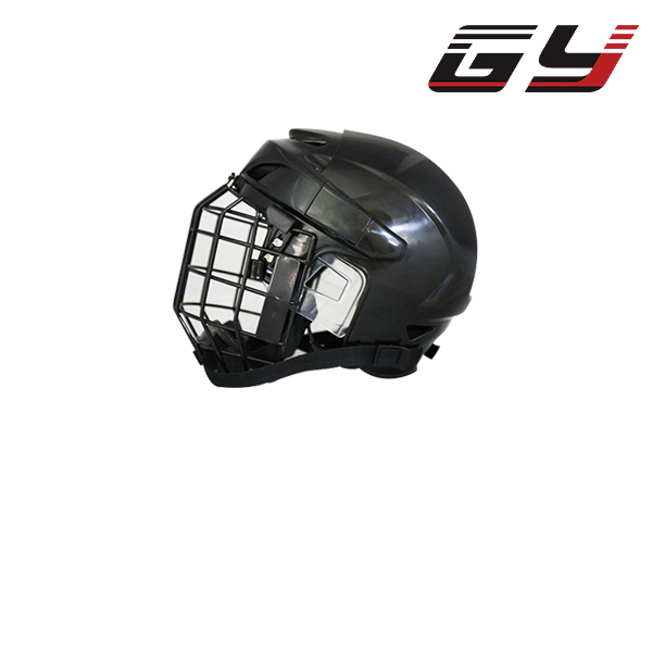 FREE SHIPPING Hockey Helmet with Cage for Player Black/White XL Size for Youth/Adult goalie mask hockey goalie helmet for goalikeeper free shipping