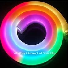 DC24V RGB led neon flex for home lighting decoration, garden lighting, building shopping mall lighting
