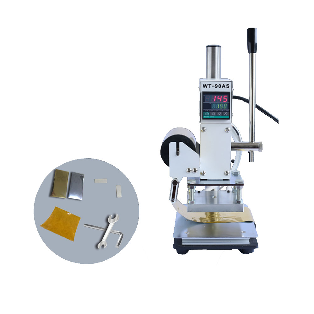 Hot Foil Stamping Pressure Mark macine 5*7cm/8*10cm/ 10*13cm with Holder for PVC leather PU and paper stamping hot foil stamping pressure mark machine 5 7cm 8 10cm 10 13cm manual bronzing machine for pvc leather pu and paper stamping
