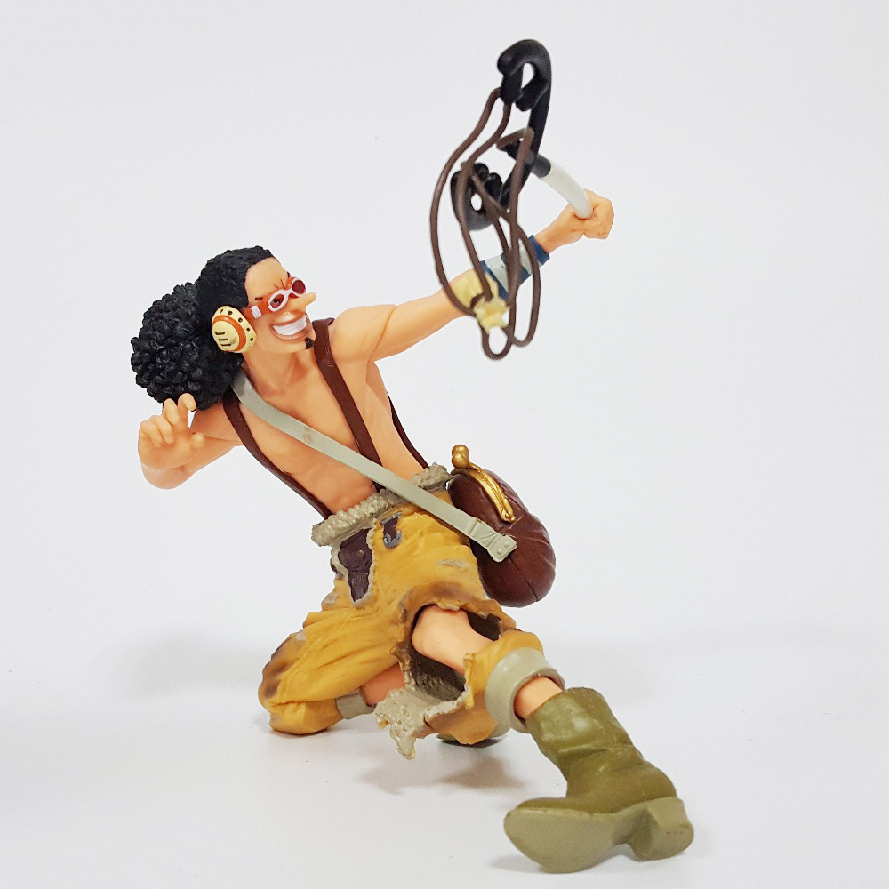 Tobyfancy One Piece Anime Figure Usopp King Of Artist Onepiece Collection Model Toy