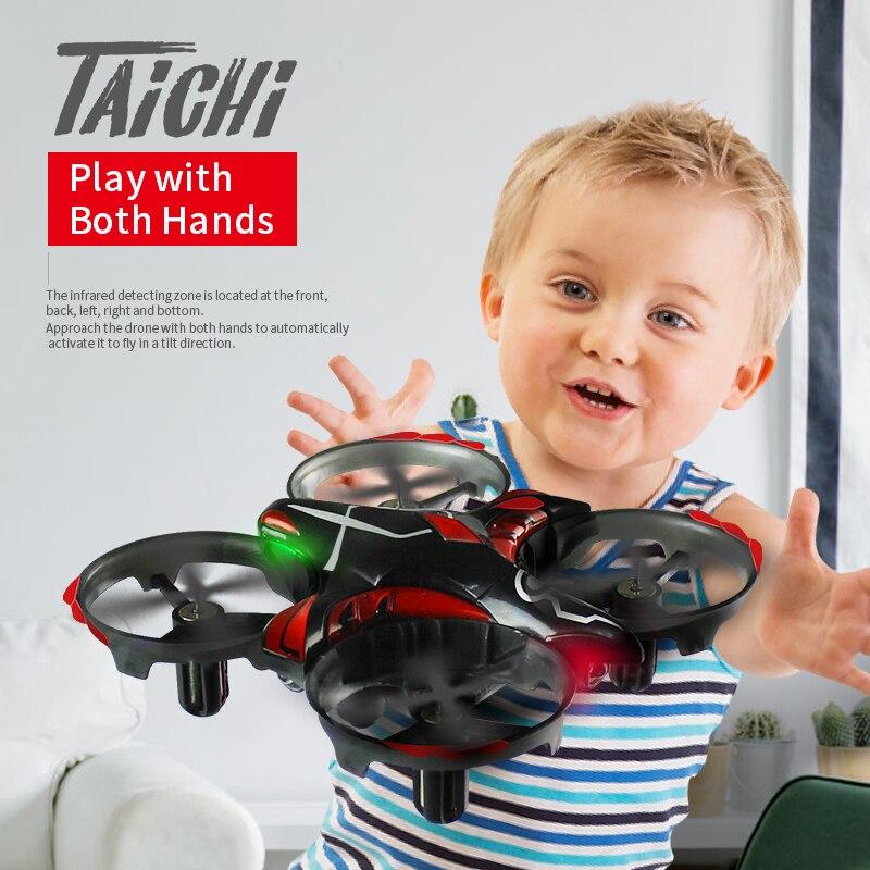 JJRC H56 TaiChi Mini Infrared Sensing Dron RTF Altitude Hold Control Remote Control Mode RC Drone Quadcopter vs jjrc h36 jjrc h36 rc quadcopter ccw motor