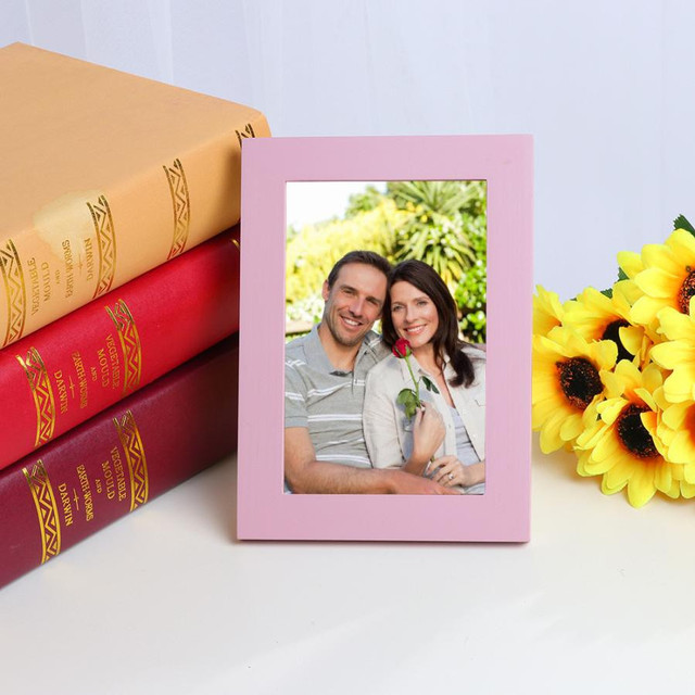 Wall Mounted Wooden Picture Frame