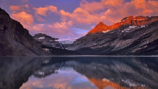 Aliexpresscom Buy Mirror Lake Canada Maple Leaf Land Landscape