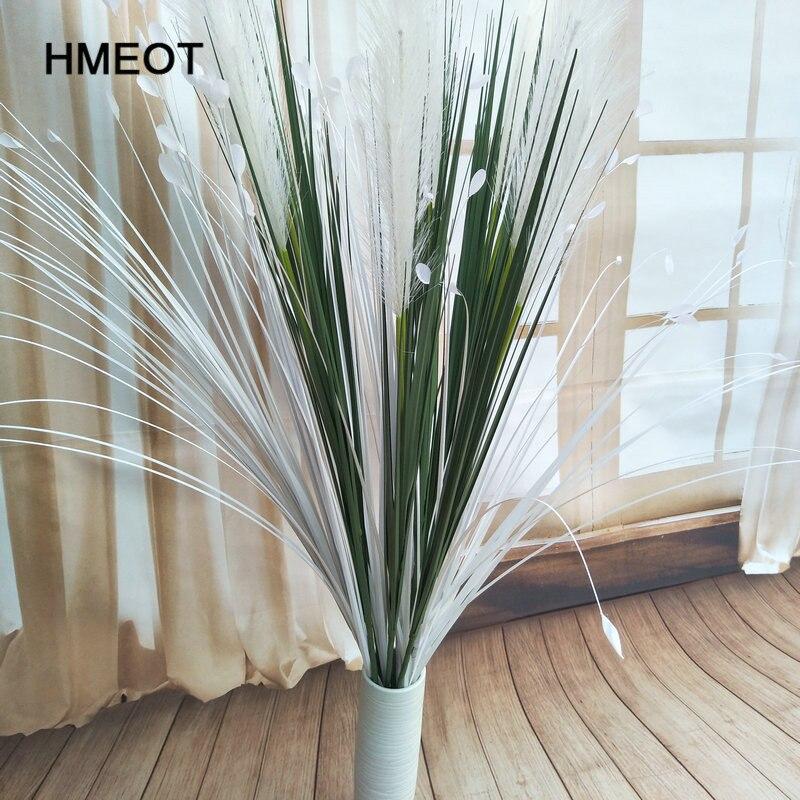 130cm 고품질 시뮬레이션 공장 인공 리드 화분 식물 꽃 공원 거실 홈 장식 꽃꽂이-에서인조식물부터 홈 & 가든 의  그룹 1