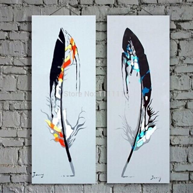 Tienda Online Hecho a mano barato pinturas modernas sobre lienzo ...