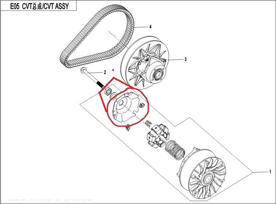 Склонны пластина/шайба/гайка костюм для CFMOTO CF550/191R-X550 ATV частей № 0 является 0GR0-051002