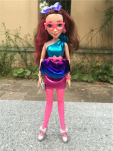 "Disney Descendants Neon Lights Ball 11""/28cm Jane Auradon Prep Action Figure Toy Dolls New Loose"