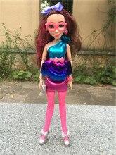 """Figuras de acción de los descendientes de Disney, muñecos de juguete con luces de neón de 11 """"/28cm"""
