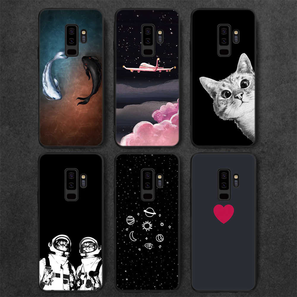 Animal Pattern Soft Phone Case For Samsung Galaxy Note 9 A8 A6 S9 S8 Plus 2018 J7 J3 J5 A5 2017 Protective Housing Back Cover