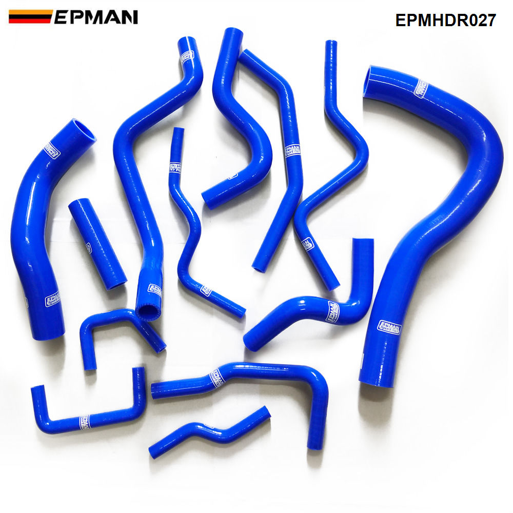 Racing Silicone turbo intercooler Radiator hose kit For Honda civic EP3 type R K20A2 (13pcs) EPMHDR027