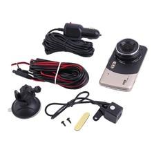 Buy 4 Inch HD 1080P Dual Lens Camera Car DVR Auto Video Recorder G-Sensor Night Vision 170 Degree Dash Cam S9000 Full Program