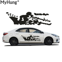 Car Stickers Fit For Toyota Carola Battle Map Car Styling Car Whole Body Sticker Personality PVC