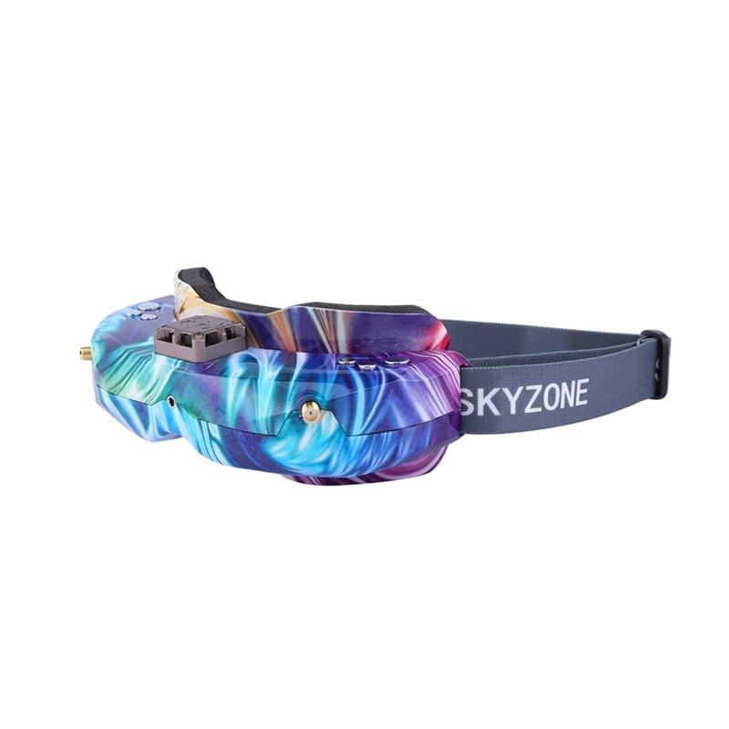 SKYZONE SKY02X 5.8Ghz 48CH diversité FPV lunettes de soutien 2D/3D HDMI tête de suivi et ventilateur DVR caméra avant pour Drone de course RC - 2