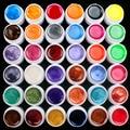 36 Unids Mezclar Colores Perla Gel Ultravioleta de Acrílico Del Arte Del Clavo Fijado Para El Clavo
