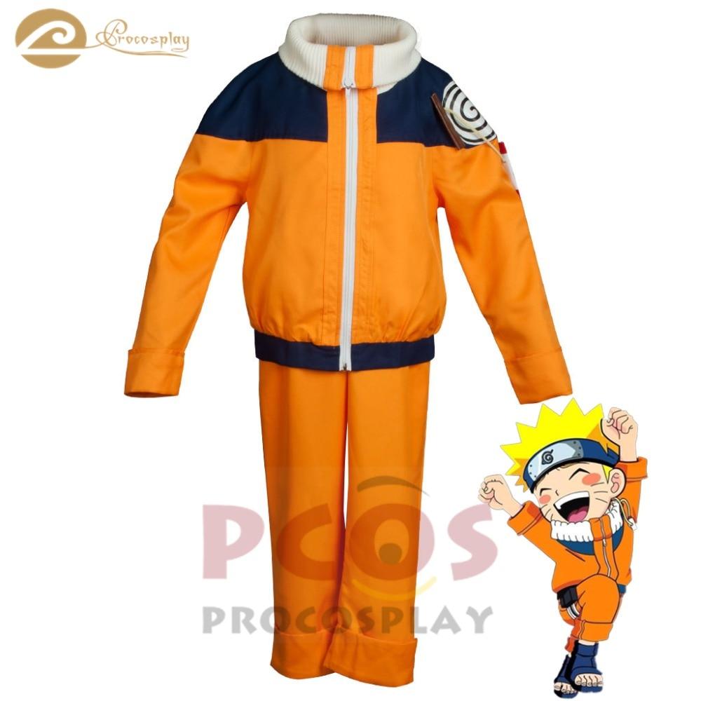 Part I jinchuriki of the Nine-Tails  Naruto Cosplay Costume Uzumaki Naruto cosplay costume for kid mp004053