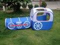 Tienda del juego de tren locomotora de los niños de interior tienda del juego y túnel, horas de Kids Fun toy tienda de campaña
