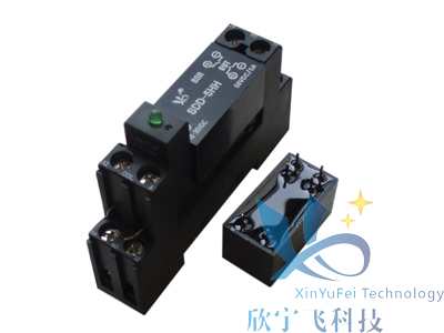 Subminiature Relay 2 Channel Normally Open Switches 5A Welded Solid State Relay With With Lamp Socket SDD-5HHSubminiature Relay 2 Channel Normally Open Switches 5A Welded Solid State Relay With With Lamp Socket SDD-5HH