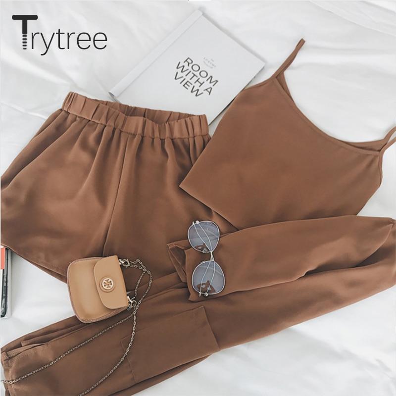 Trytree Women Καλοκαίρι τριών τεμαχίων Σετ - Γυναικείος ρουχισμός - Φωτογραφία 5