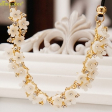 Diomedes Newest Necklace 1PC Women Daisy Flower Bib Statement Pendant Chain Necklace Costume Jewelry Accessories Sexy Chain