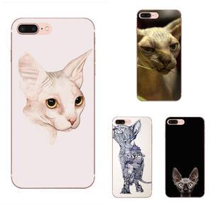 Мягкие чехлы для телефонов Huawei Honor 4C 5A 5C 5X 6 6A 6X 7 7A 7C 7X 8 8C 8S 9 10 10i 20 20i Lite Pro Sphynx Cat Kitty