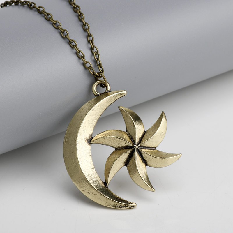 dongsheng The Elder Scrolls Necklaces Hot Game Jewelry Skyrim The Dinosaur Pendant Necklace Women Men Charms Pendants -30 image