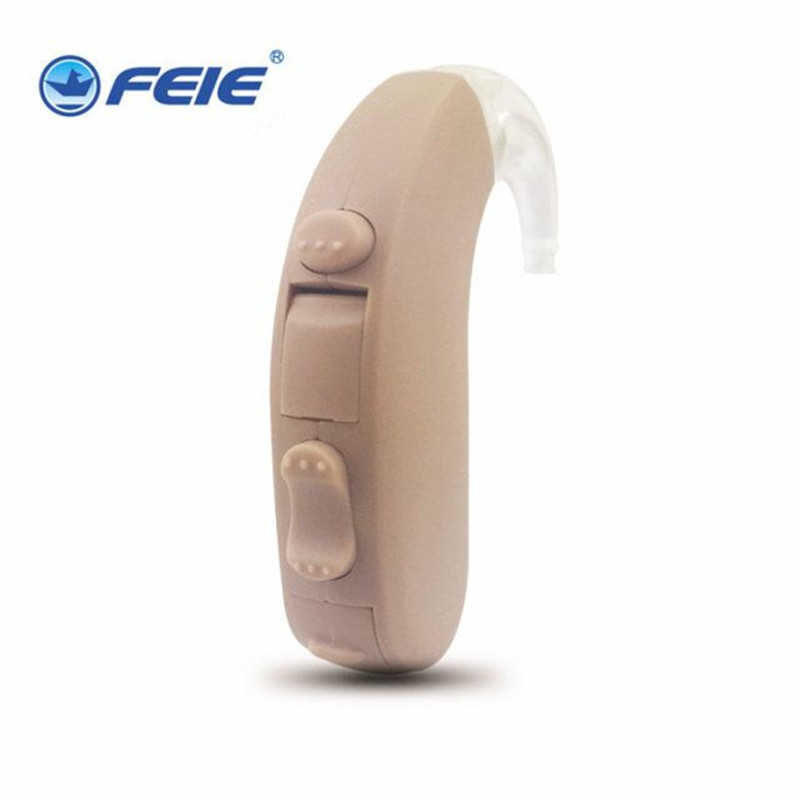 Portable Digital Audiphones MY-13 BTE Hearing Aid Enhancement Sound for Senior Severe Deaf Aid same as siemens 12pFree Shipping analog bte hearing aid deaf sound amplifier s 288 deaf aid with digital processing chip free shipping