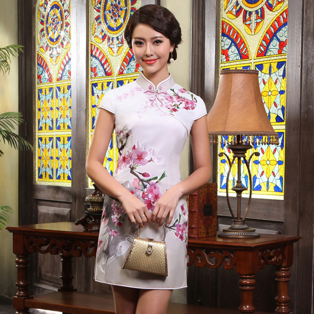 Improved cheongsam 2013 summer fashion women's sexy cheongsam dress vintage g13311