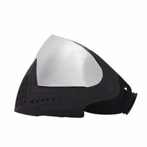 Image 3 - Fma Outdoor Airsoft Tactical Eyewear Ski Jacht Oorlog Spel Anti Fog Beschermende Goggle Volgelaatsmasker Met Reflecterende Lens FM 0024