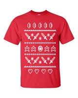 Summer Short Sleeves T Shirt Fashion Festivus Adventure Ugly Sweater Design Merry Christmas Xmas Men S