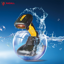 RD-1200 high quality Portable CCD wired barcode scanner RD-1205 Wireless bar code reader Waterproof IP67 Easy Charging
