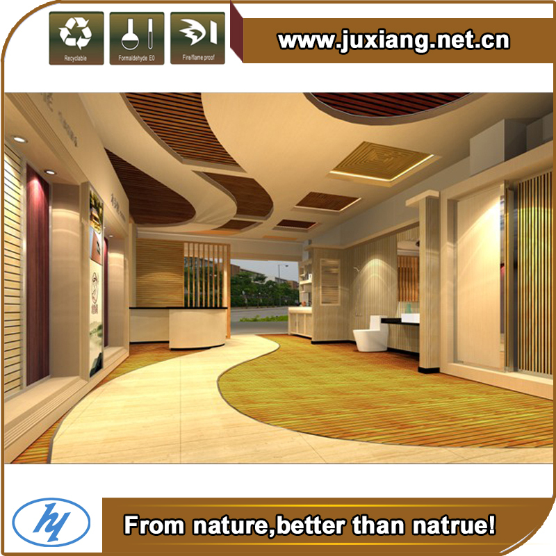 WPC interior decoration WPC wall panels wood plastic composite ...