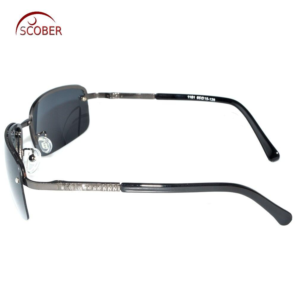 d59c347842   SCOBER   Rimless Polarized Light Sunglasses Grey Frame Uv400 Polaroid  Polarised Sport s Driving Outdoor Designer Sun Glasses-in Sunglasses from  Apparel ...