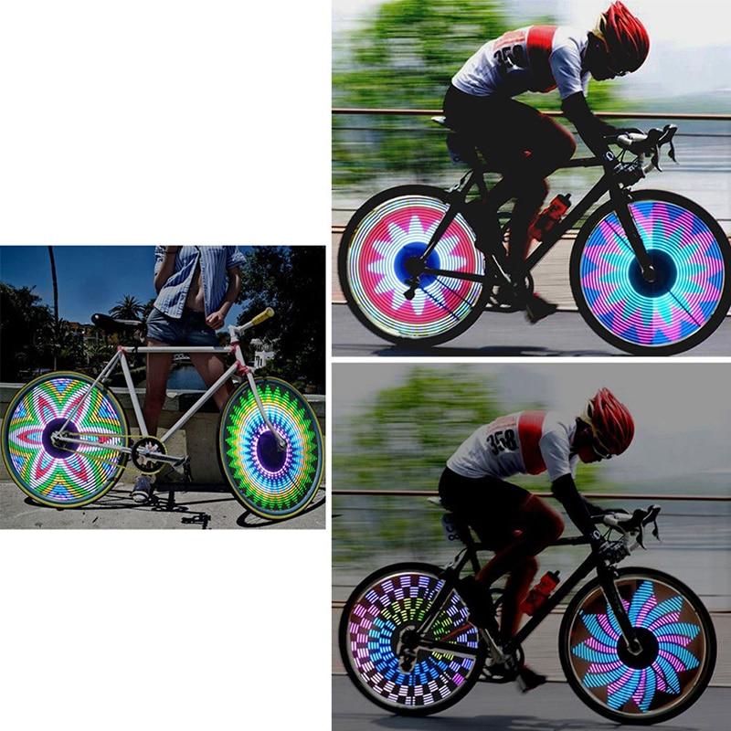 Fashion Bike Cycling Hot Wheels LED Tire Lamp Bicycle Decorative Valve Lights CA
