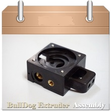 DIY Reprap Bulldog injection-molded Extruder For 1.75/3mm Compatible with J-head MK8 Remote Proximity For 3D Reprap printer