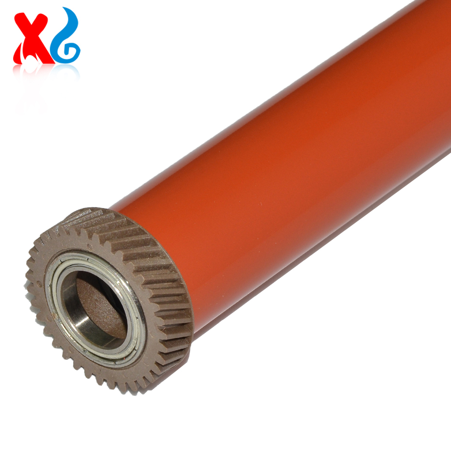 1Pcs C2270 C3370 Japan Material Fuser Film Sleeve With Gear Compatible for Xerox IV C2277 C3373