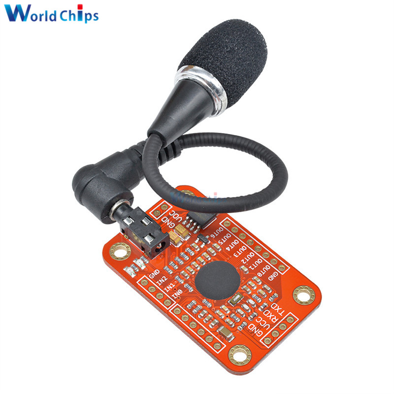 Image 4 - Speed Recognition Voice Recognition Module V3 Compatible with for Arduino Support 80 Kinds of Voice DC 4.4  5.5 V High Accuracy-in Integrated Circuits from Electronic Components & Supplies