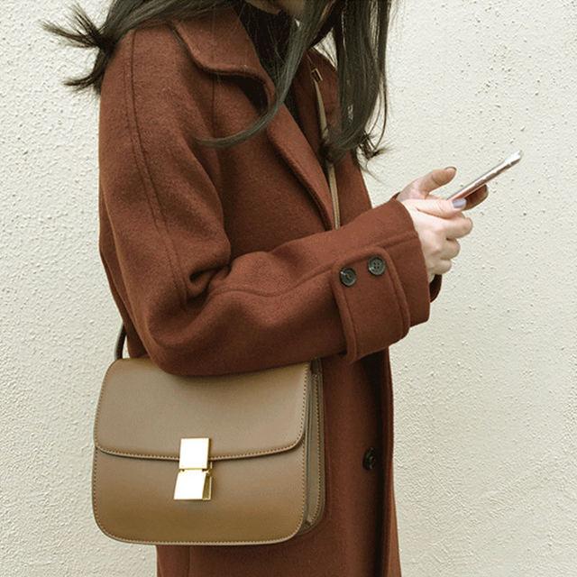 Plus Size 5XL 6XL Autumn New Wool Coat Women Manteau Femme Winter Coat Women Fashion Elegant Long Woolen Coat Warm Parka C4940 3