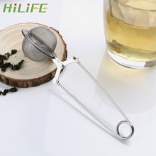 HILIFE Sphere Mesh Tea Strainer Stainless Steel Handle Tea Ball Tea Infuser Kitchen Gadget Coffee Herb Spice Filter Diffuser(China)