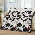 Promotion! Cartoon Mickey Kitty Blanket high quilty baby cartoon crib bed set baby mickey minnie quilt,140*100cm