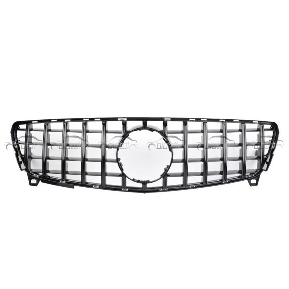 GTR <font><b>Grills</b></font> for <font><b>Mercedes</b></font> Benz <font><b>W212</b></font> 2013-2015 Replacement Black Front Kidney <font><b>Grill</b></font> image