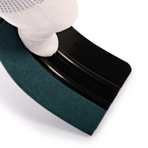 Image 3 - FOSHIO 6 pcs אין שריטות ויניל מגב סט פחמן סרט רכב גלישת מגרד חלון גוון גלישת כלי ערכת רכב אבזרים